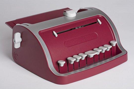 Máquina utilizada por l@s cieg@s para escribir